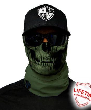 Бафф Tactical Green Skull