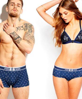 Комплект нижнего белья для пары Royal Blue