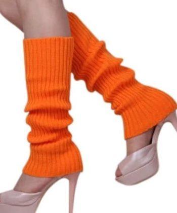 Гетры спортивные оранжевые