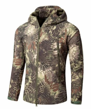 Куртка камуфлированная Зеленый питон