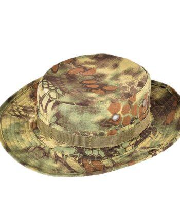 Шляпа камуфлированная Зеленый питон